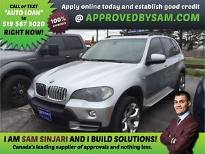 X5 - APPLY WHEN READY TO BUY @ APPROVEDBYSAM.COM