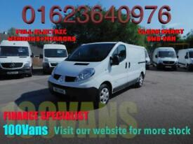 Renault Trafic 2.0dCi SWB 115PS 1 OWNER F/S/H SAME DAY FINANCE
