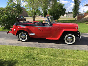 1948 WILLYS JEEPSTER - GREAT LAKE CAR!