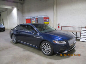 Lincoln Continental Reserve   ( $ 53,900 + Taxes )