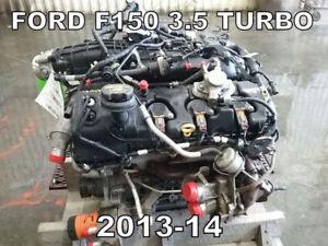 MOTEUR FORD F150 3.5 T ecoboost 2013-2014 TÉL: 514-247-5757