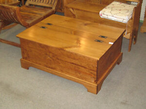 Double lidded Coffee table