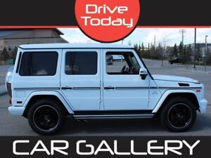 2014 Mercedes Benz G-Class G63 AMG 4MATIC w/Leather, Sunroof, Na