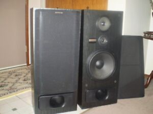 VINTAGE 1993 -  PIONEER 3 WAY SPEAKERS CS-N575