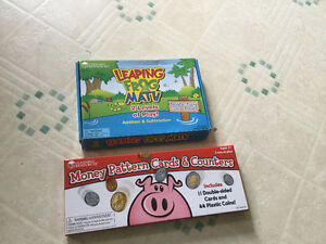 leaping frog game and money patterns