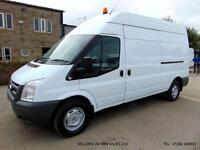 2011 11-REG FORD TRANSIT 350, LWB, HIGH ROOF, TOW BAR, 6 SPEED GEARBOX, F.S.H.