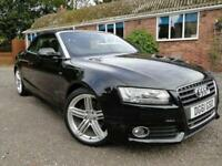 2011 61 AUDI A5 2.0 TDI S LINE CONVERTIBLE 2DR 170 BHP DIESEL