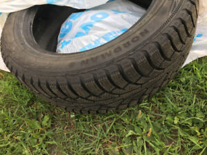 NOKIAN Nordman 5 winter tires 225/ 55 R 17, used ONE month only