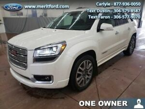 2014 GMC Acadia Denali  - One owner - Local - Trade-in