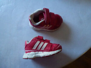 Infant Adidas Running Shoes size 3 with box