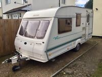 50th anniversary Bailey 4 berth caravan