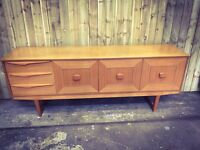 Teak Retro Stateroom / Stonehill Sideboard FREE DELIVERY