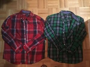 MEN'S BRAND NAME BUTTON UP SHIRTS - $10 EACH OR $80 FOR ALL 12 London Ontario image 1