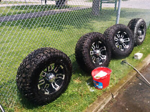 RTX CRUSH RIMS with Goodyear Wrangler duratracs 16 inch