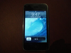 White iPhone 3G 16GB With OtterBox Case, iPod (or Trade)--FIDO