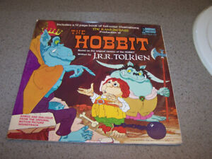Rare - THE HOBBIT - Disneyland RECORD includes 12 page booklet
