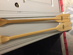 4' Feather Brand wooden oars
