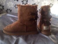 Tan ugg boots size 7