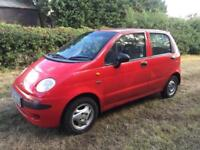 CHEAP 5DR CAR 33K MILE 0.8L MATIZ - YEARS MOT (NO ADVISORIES) - 1 OWNER FROM NEW