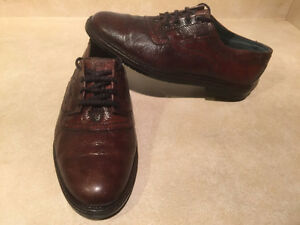 Men's Broke Land by Afis Leather Dress Shoes Size 7.5-8 London Ontario image 5