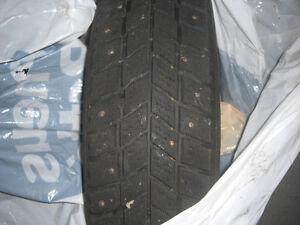 kingstar pneu d'hiver à clou toyota 155/80 r13