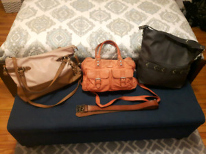 Purses and belt