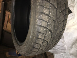 """Good condition used winter tires 17"""" $350 OBO"""