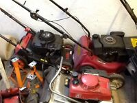 5x Lawn mowers spares or repairs
