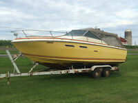 24 Ft Sea Ray Weekender Cruiser with trailer
