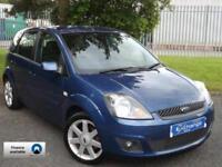 2008 (58) Ford Fiesta 1.25 Zetec Blue 5 Door // LOW 68K MILES //