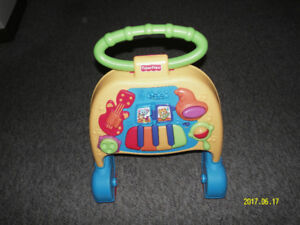 Baby first step FISHER-PRICE. With music.
