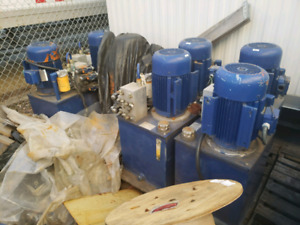 Hydraulic pumps- large selection