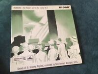 Society of St.Gregory 'plainsong'the peoples part in the liturgy no 2 7inch single