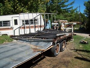 24 ft Fifth wheel trailer frame