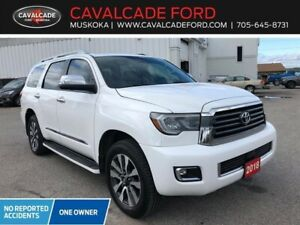 2018 Toyota Sequoia Limited backup cam, lane keep assist!