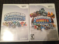 Skylanders: 2 Wii Games, Complete set 48 figures plus boosters