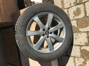 Sport rims with near new Michelin winter tires