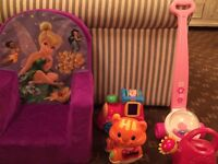 Toys and more toys in brand new condition!  Must see!