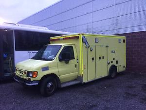 E-450 ambulance
