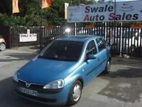2002 VAUXHALL CORSA COMFORT 1.2L ONLY 79,325 MILES, FULL SERVICE HISTORY