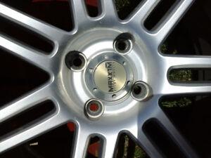 4 pneu sur mag