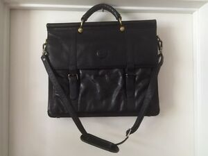 Borsette La Rappi Black Leather Hand Bag