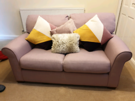 M&S 3 SEATER & 2 SEATER SOFA FOR SALE