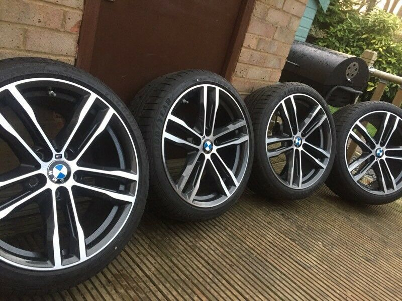 Genuine Bmw 3 4 Series 19 704 M Sport Alloy Wheels