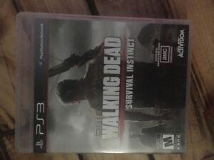 Jeux walking dead PS3