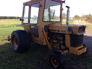 Massey Ferguson 30 with turf tires and 7 ft Finishing mower