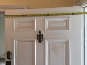 "Classic solid wood 40"" in door with hardware. Make an offer Kingston Kingston Area image 3"