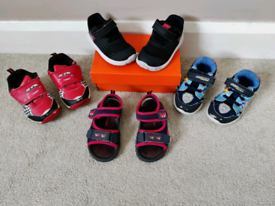 Size 6 kids shoes. Reduced prices