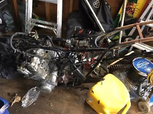 1980 Honda CB750 Cafe Project. Parts or Restoration