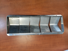 Stainless steel boat engine vent